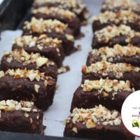 Healthy Snickers Bars