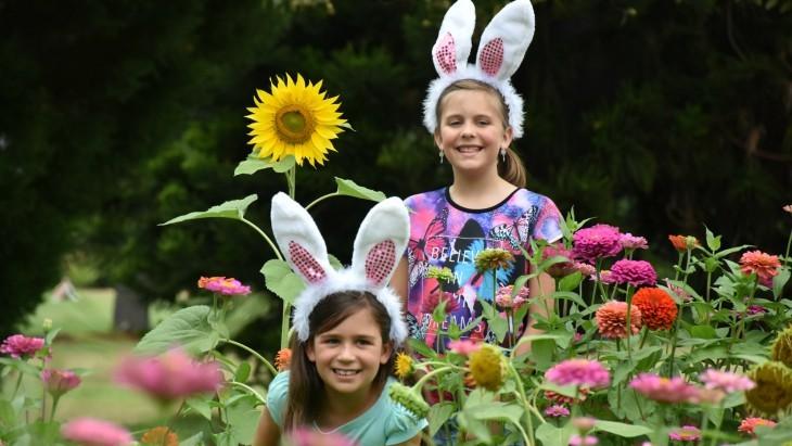 The Easter Egg Hunt Royal Botanic Garden