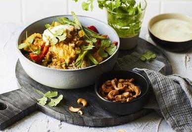 Healthy Chicken Korma