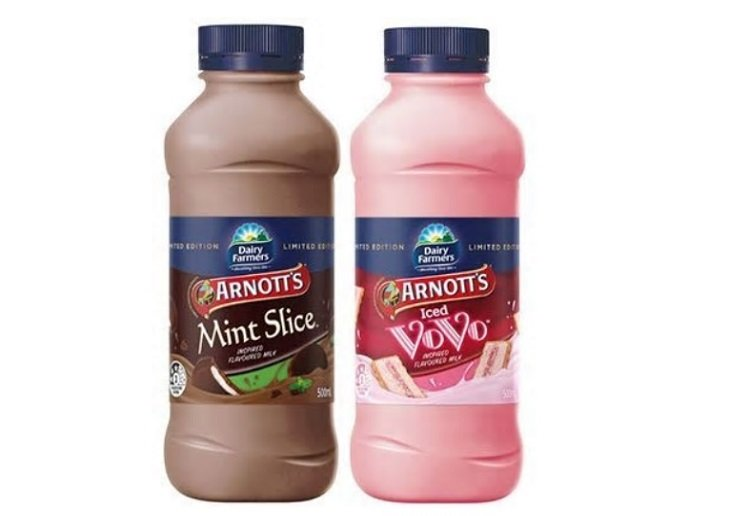 Mint Slice and Iced Vovo Biscuits Now Available in Flavoured Milk