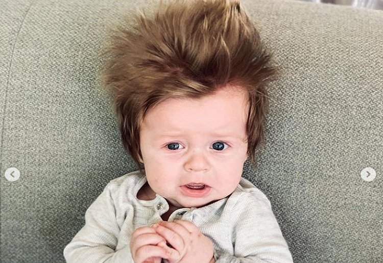 This Baby Boy Has the Best Hair Ever!