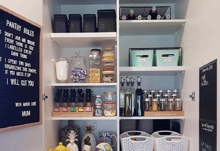 Mum Parent Shamed After Sharing a Photo of Her Tidy Pantry of All Things