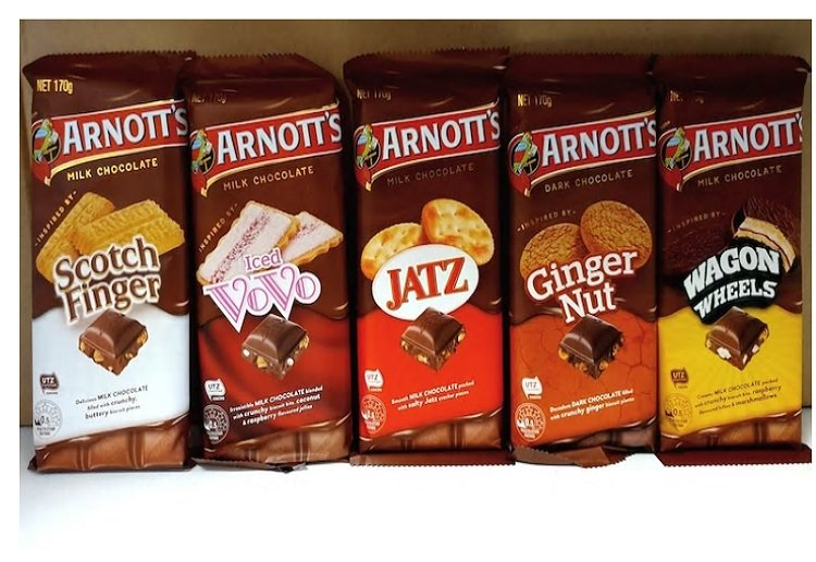 OMG! Arnott's Release New Biscuit Inspired Chocolate!