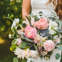 Bride Caught Stealing Wedding Flowers