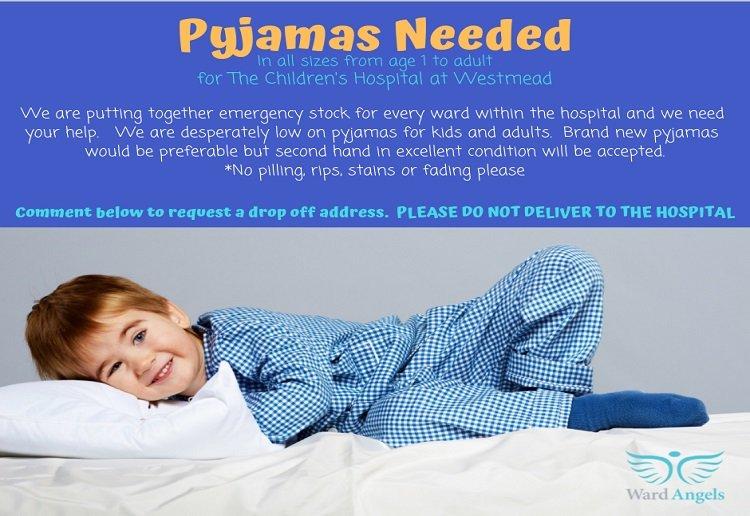 Pyjamas Desperately Needed! Can You Help?