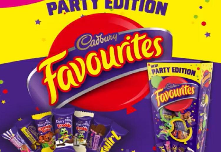 NEW Cadbury Favourites Party Edition