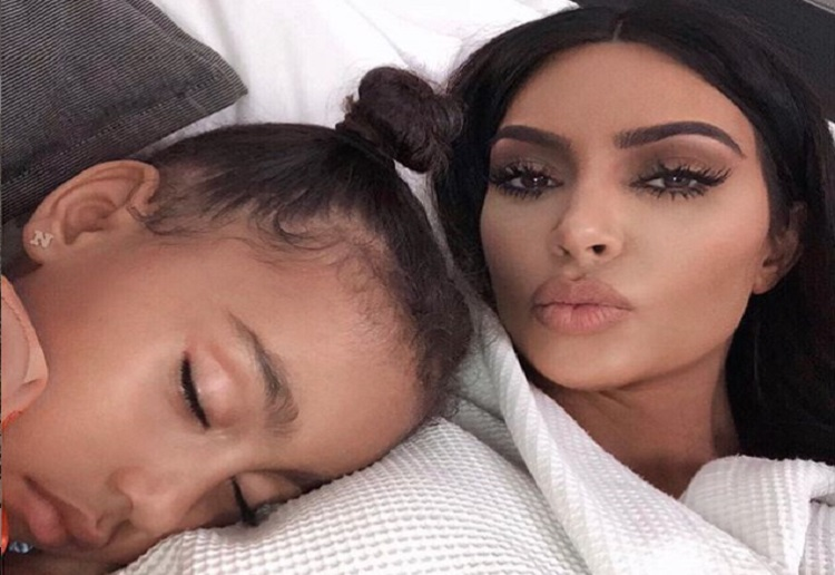 "Kim Kardashian Mum Shamed ""Give North a Book to Read"""