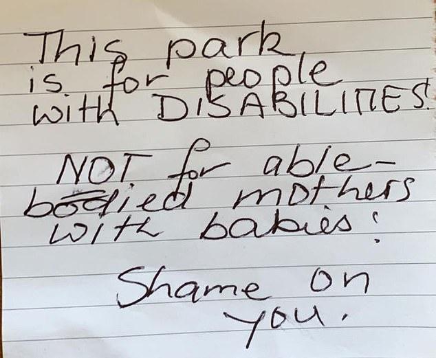 disabled park