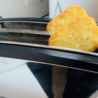 I Made Hash Browns In The Toaster....And It Worked!