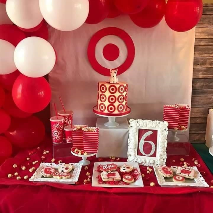 They Shared A Little Girl Requested Target Themed Party For Her 6th Birthday Could Not Love This More