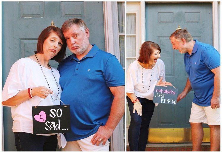 Empty Nesters Hilarious Photo Shoot Goes Viral