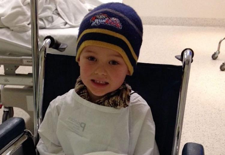Little Boy's Horrific Ordeal After Pyjamas Catch Fire