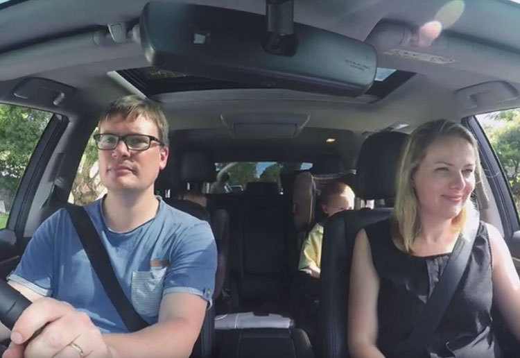 MoM Members Trial the Brand New Toyota Kluger Grande