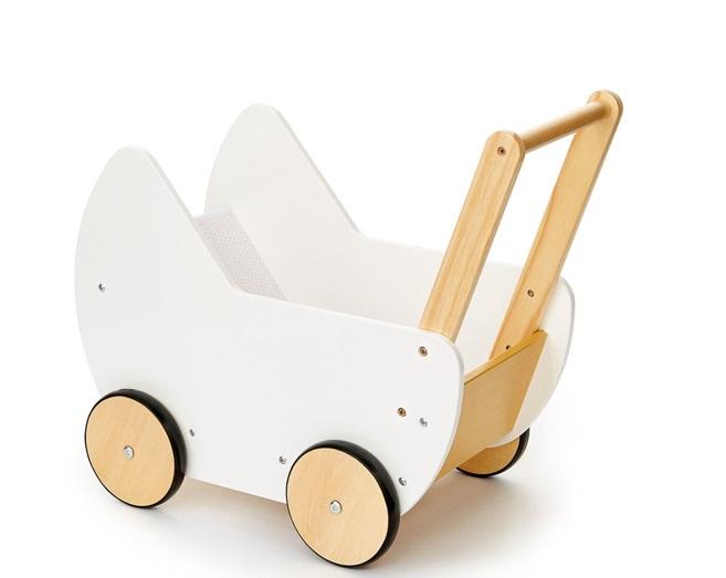 wooden pram
