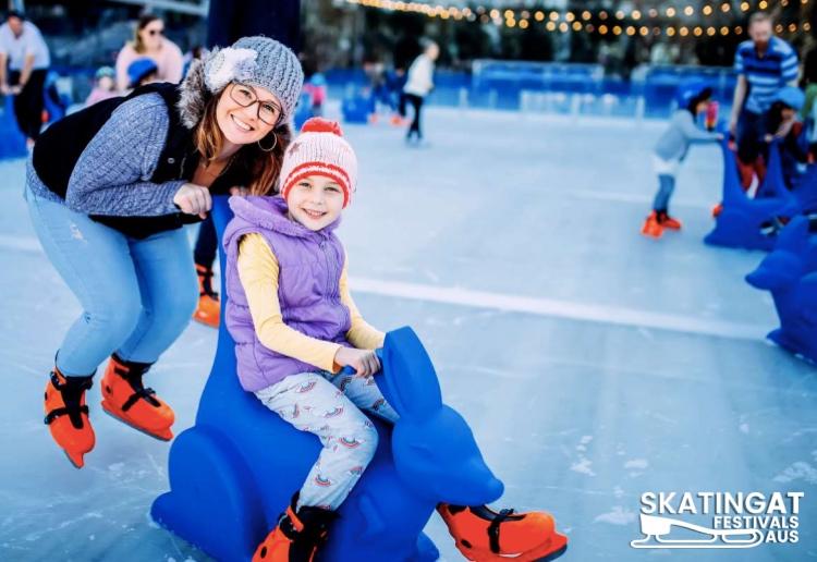 Skating At Festival