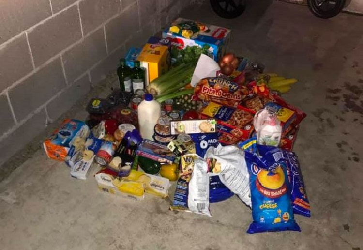Mum Shocked to Find $300 Grocery Order Dumped in Her Garage