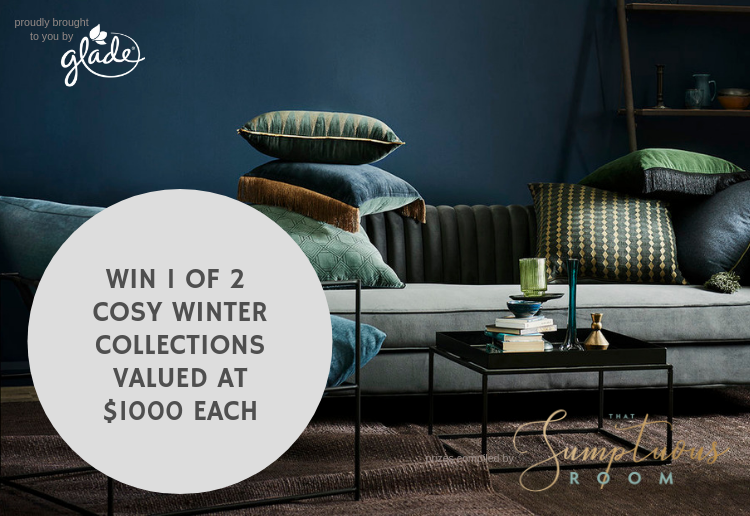 WIN 1 of 2 Cosy Winter Home Styling Collections, Valued At $1000 Each