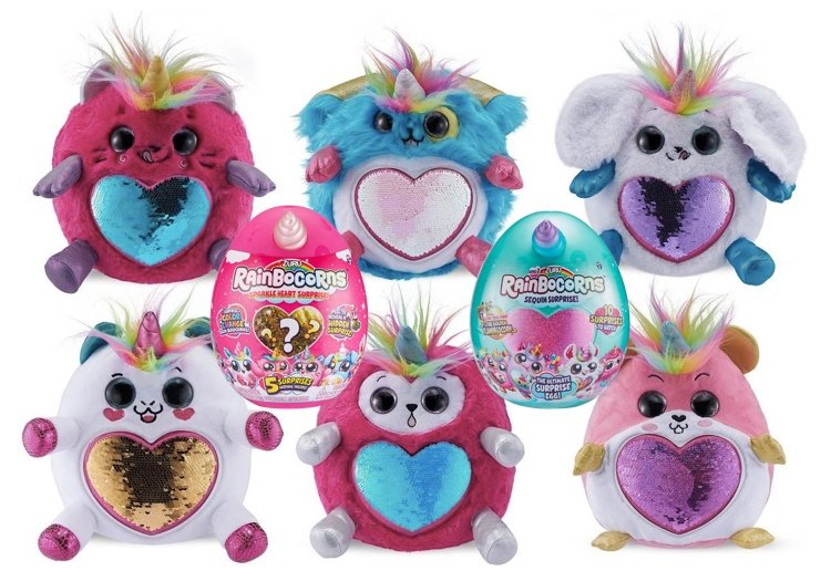 WIN 1 Of 5 ADORABLE Rainbocorn Prize Packs