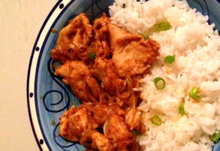 Chinese Satay Chicken
