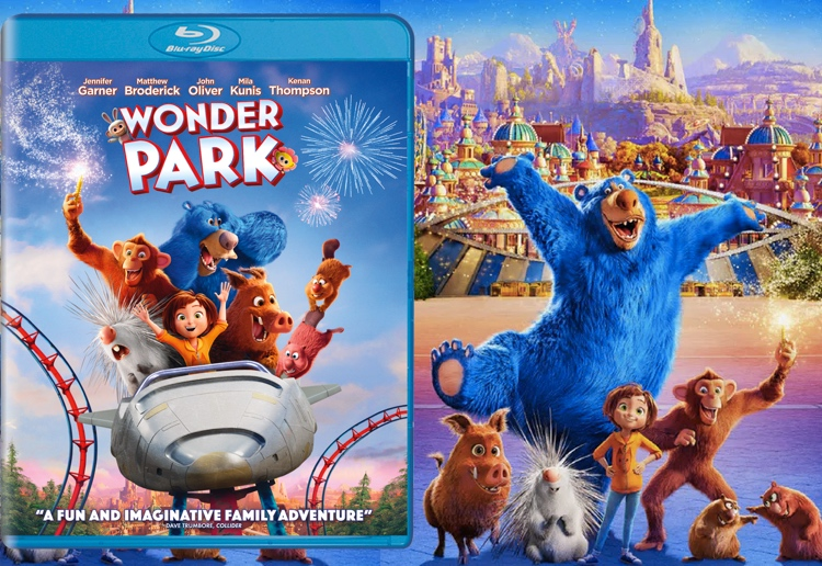 WIN A Personalised Toy Based On Your Child's Drawings To Celebrate Wonder Park DVD Release
