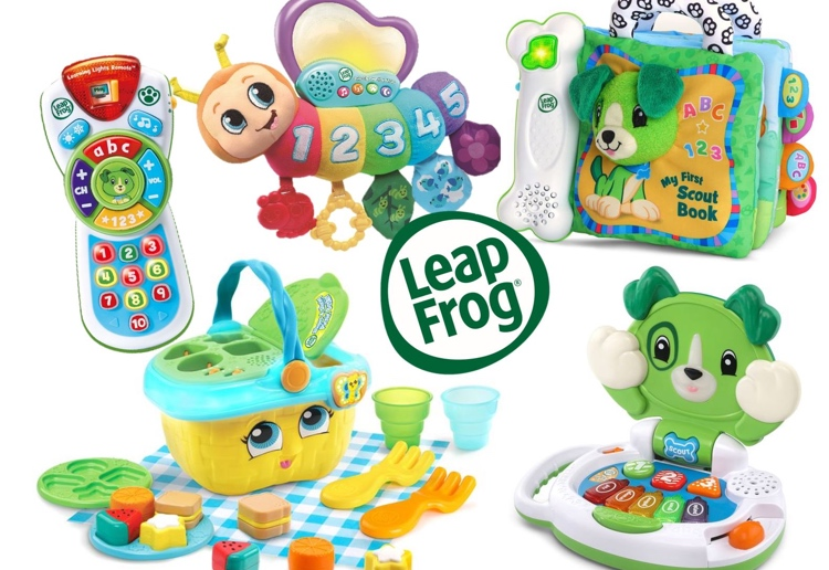 Win 1 Of 4 Mega-Fun LeapFrog Prize Packs