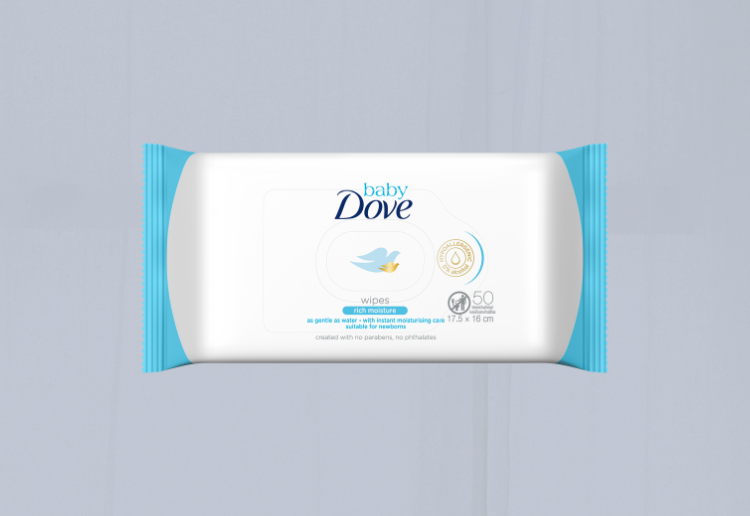 mom339261 reviewed Baby Dove Rich Moisture Wipes