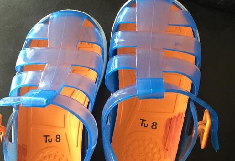 Mum's Warning Over Dangerous Toddler Shoes