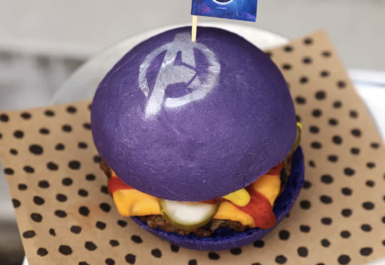 CaraW reviewed OMG Grab Your FREE Purple Avengers Cheeseburger