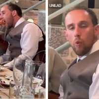 Groom Got So Drunk On His Wedding Day That His Mother-In-Law Had To Care For Him