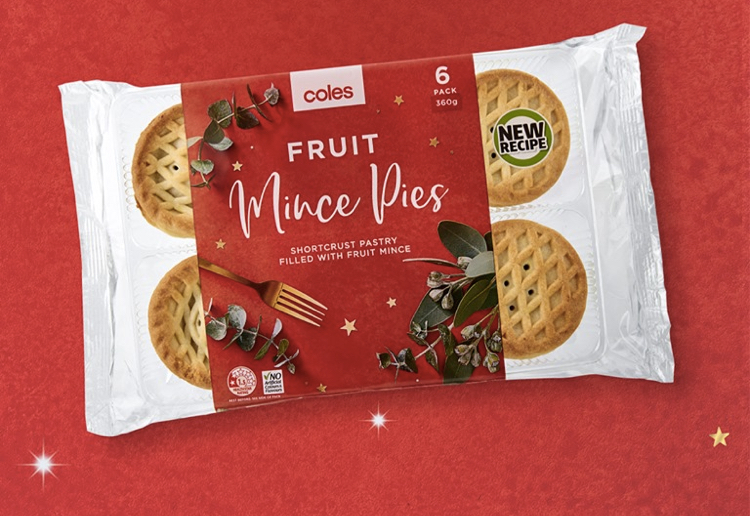 Coles Starts Selling Christmas Mince Pies In August!