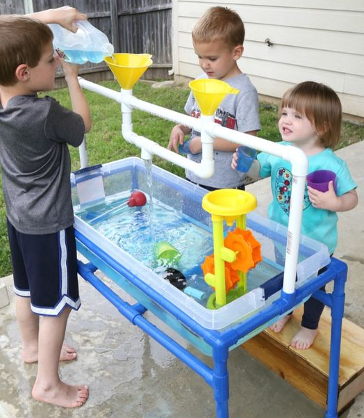 Make a sand or water table for the kids - Mouths of Mums